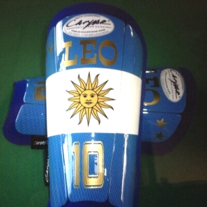 Messi Campari shin guards