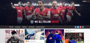 Manchester United Social Media