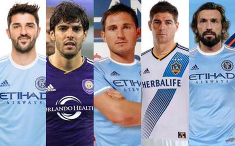 Top stars of the MLS
